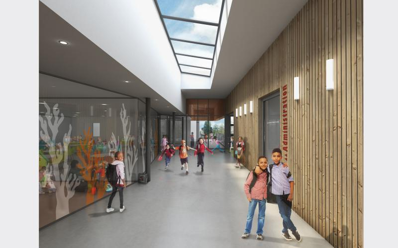 Groupe scolaire Voltaire RO.ME Architectes angers RAW